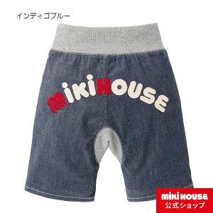 新着商品 ミキハウス バックロゴ7分丈パンツ(80cm-110cm)