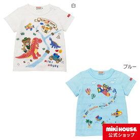 ミキハウス mikihouse 半袖Tシャツ(110cm・120cm・130cm) ベビー服 キッズ 子供服 こども 男の子 女の子 半そで co202106_1a