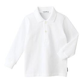 ミキハウス mikihouse 【面接】長袖ポロシャツ(男の子用)(120cm・130cm) キッズ 子供 男の子 お受験 キッズ 子供服 こども 子供 男の子