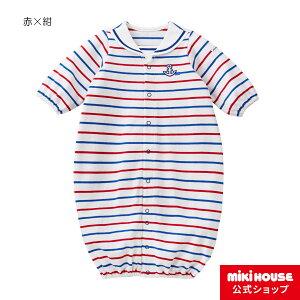 ミキハウス mikihouse イカリマークのマリンツーウェイオール(50cm-60cm) ベビー服 子供服 赤ちゃん 女の子 男の子 日本製