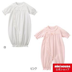 ミキハウス mikihouse メッシュ天竺ツーウェイオール(50cm-60cm) ベビー服 子供服 赤ちゃん 女の子 男の子 日本製