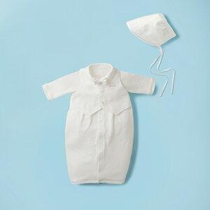 ミキハウス mikihouse ベスト蝶ネクタイ付きツーウェイオールセット(50cm-60cm) ベビー服 子供服 赤ちゃん 女の子 男の子 白