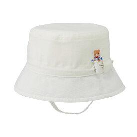 ミキハウス mikihouse 爽やかダンガリー帽子〈SS-S(40cm-48cm)〉 ベビー ベビー用品 キャップ 赤ちゃん 男の子 女の子 co202106_3a