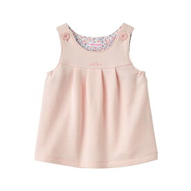 ミキハウス mikihouse ソフト裏毛パイルジャンパースカート(70cm・80cm) ベビー服 子供服 赤ちゃん 女の子 ワンピース