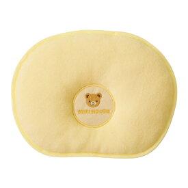 ミキハウス mikihouse くまちゃん刺繍のベビーまくら ベビー 赤ちゃん 枕 新生児 ベビー枕