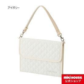 ミキハウス mikihouse マザーダイアリーケース(LLサイズ) マタニティ ベビー 母子手帳ケース クラッチバッグ型 2WAY