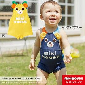 ミキハウス mikihouse プッチー☆なりきりグレコ水着(70cm・80cm・90cm) ベビー 赤ちゃん 水遊び 男の子 女の子