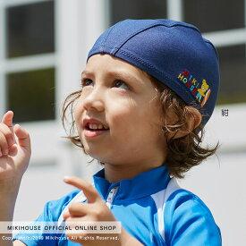 ミキハウス mikihouse バンダナ風スイムキャップ〈フリー(48cm-56cm)〉 ベビー キッズ ジュニア 水泳 プール 女の子 男の子 UVカット