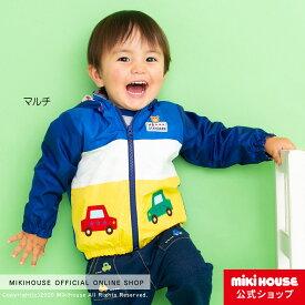 ミキハウス ホットビスケッツ mikihouse 裏地付きジャンパー(80cm-120cm) キッズ 子供服 こども ジャンパー フード 男の子 アウトドア 202002-hg co202004_1d