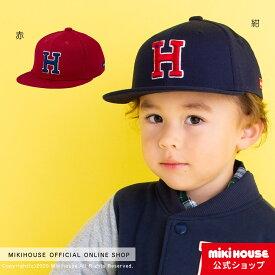 ミキハウス ホットビスケッツ mikihouse キャップ(帽子)〈SS-M(46cm-52cm)〉 ベビー キッズ 赤ちゃん 子供 こども 女の子 男の子 co202106_3a