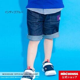 ミキハウス ホットビスケッツ mikihouse 6分丈パンツ(80cm・90cm・100cm・110cm・120cm) ベビー服 キッズ 子供服 こども 男の子 ボトムス ズボン co202105_1c