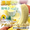 ★【入荷中】アポ山スーパー800【最高級ペンギン印バナナ6本】フィリピンのアポ山で栽培された最高級高原栽培バナナ※御注文順に発送致します