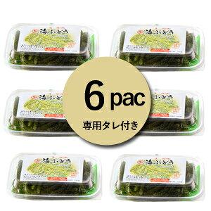 【生】海ぶどう6パックセット(100g×6)お取り寄せ グルメ おつまみ 沖縄 お土産