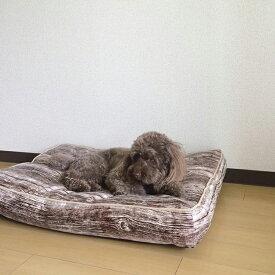 【在庫限り】ペット用クッション PAW-PAW WOODY PET CUSHION SQUARE HMLY4110