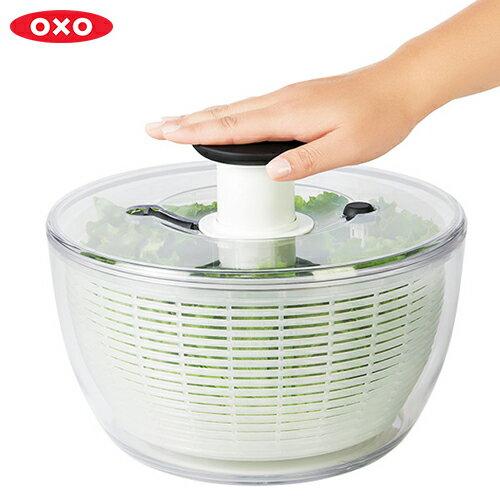 野菜水切り器 オクソー (OXO) クリアサラダスピナー大 11230400 ** 【送料無料】