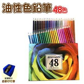 油性色鉛筆 48色 セット おまけ付き!!塗り絵やプレゼント用にも最適です。ギフト プレゼント 贈り物 子供 こども 夏休み 鉛筆 筆記具 文房具 文具 ぬり絵 デッサン 画材 大人の塗り絵 36色 24色 12色 100色 三菱 ばら売り 単色 160色 水彩 トンボ
