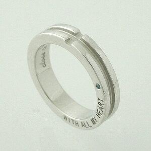 指輪 【刻印無料】close to me メッセージクロス シルバーリングSR14-007【プレゼント】【ペアリング】