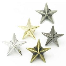 ラペルピン スター 星 中サイズ ピンブローチタックピン ブローチ ラベルピン ks27007【メンズ】【結婚式】【レディース】