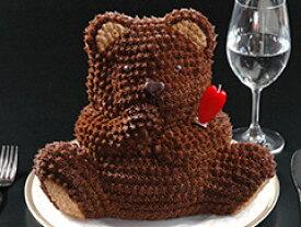 ビッグベアーケーキ サプライズ バースデーケーキ 誕生日ケーキ 誕生日パーティー 立体ケーキ デコレーションケーキ 3Dケーキ クマ ギフト