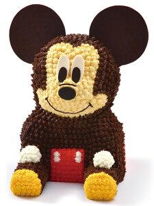 ミッキー/3Dケーキ ミッキーマウス  バースデーケーキ 誕生日 キャラクター ディズニー 立体ケーキ デコレーションケーキ 誕生日パーティー サプライズ