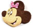 マイルストーン ミニー/2Dケーキ【ミニーマウス クリスマス バースデーケーキ 誕生日 キャラクター ディズニー …
