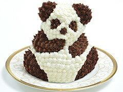マイルストーン リトルパンダケーキ(誕生日ケーキ/バースデーケーキ/キャラクター/プレゼント/サプライズ/かわいい/記念日/ビビット)