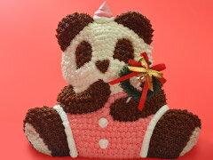まだ間に合う!!クリスマス マイルストーン サンタパンダ(クリスマス クリスマスケーキ デコレーション ギフト プレゼント サプライズ かわいい)