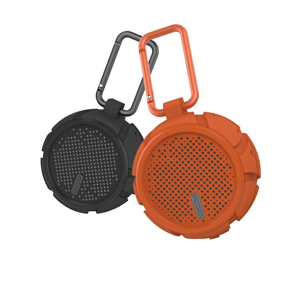 QCY Box2 Bluetooth スピーカー 大音量 野外 持ち運び 完全防水 Bluetooth ブルートゥース ワイヤレス スピーカー ノイズキャンセル 通話 マイク ワイヤレススピーカー 耐震 防水 風呂 キャンプ IPX7 ブラック オレンジ QCY-BOX2BK QCY-BOX2OR