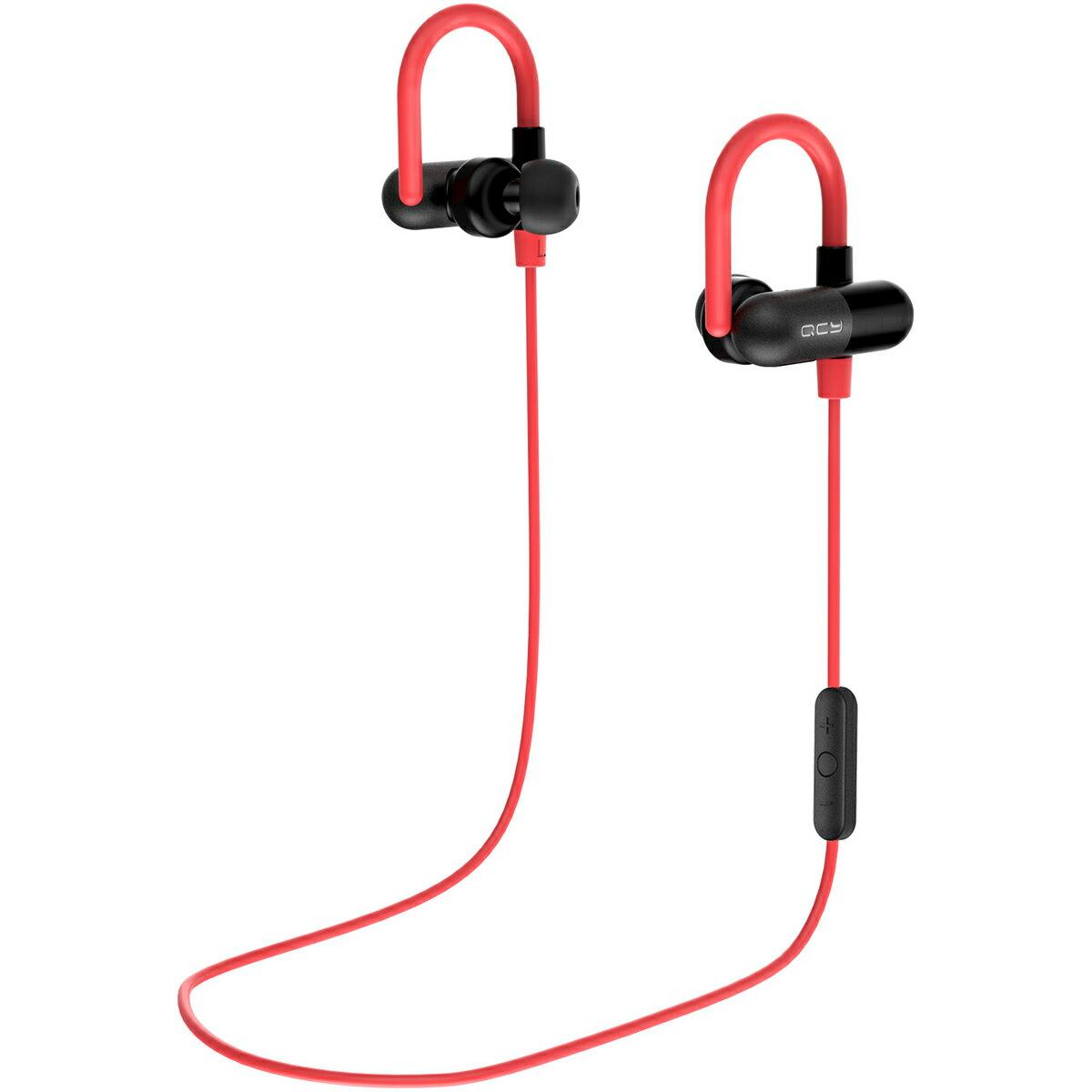 QCY QY11 耳掛け式 Bluetooth イヤホン ワイヤレス イヤホン ランニング スポーツ イヤホン 両耳 高音質 apt-x ブルートゥース イヤホン bluetooth 防水 ハンズフリー 通話 ノイズキャンセリング Siri対応 iPhone Android 対応