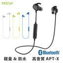 QCY QY19 ワイヤレスイヤホン Bluetooth イヤホン スポーツ ランニング IP64 防水 軽量 小型 マイク付き 音量調整 カナル型 高音質 両耳 通話 ブルートゥース イヤホン ワイ
