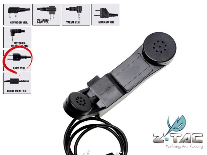 【レトロ通信機】ZTACTICAL H-250タイプ ミリタリーフォン(ICOM)(Z-117I)★90年代装備に 検)サバゲ サバイバルゲーム
