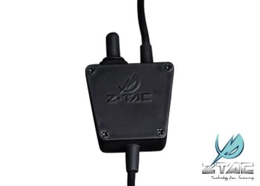 ZTACTICAL Zタクティカル TEA E-Switchタイプ PTT ICOMコネクター トグル[全国一律300円配送可能]