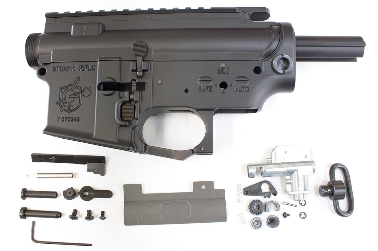 HurricanE ハリケーン マルイM4M16シリーズ SR-15 URX2 メタルフレーム★メタルボティ