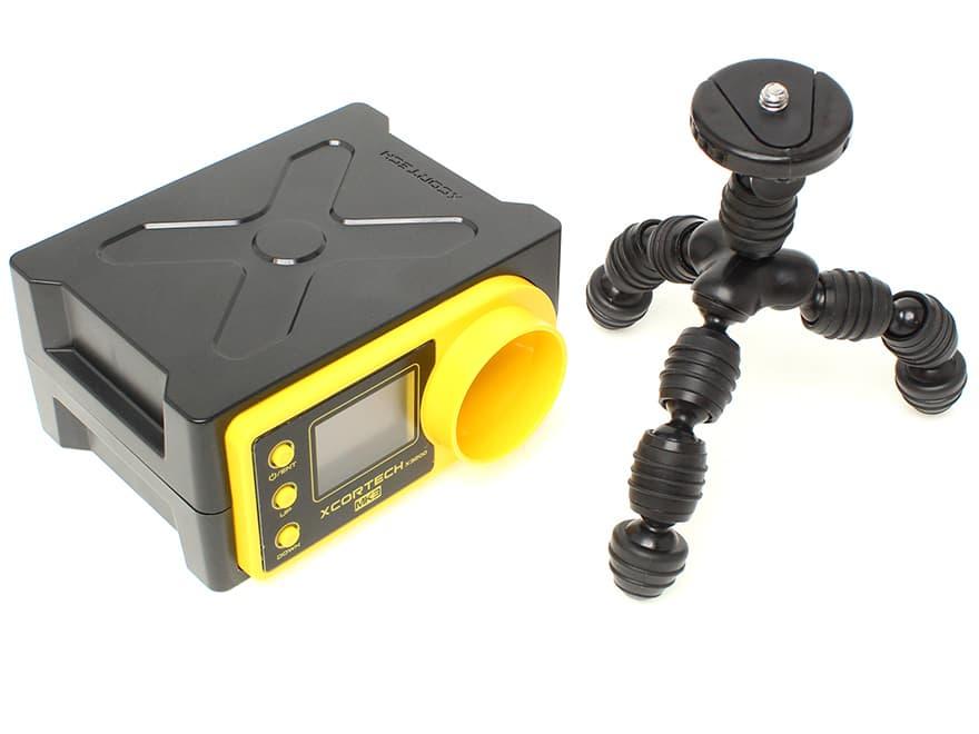 【90日間保証!日本語取説付属】XCORTECH 弾速測定器 X3200Mk3 マルチジョイント カメラ三脚セット◆弾速計 Xコーテック サバゲ レギュレーション 初速調整
