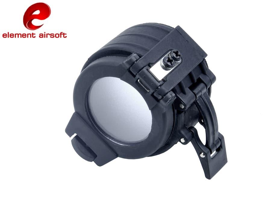 ELEMENT フラッシュライト ディフューザー 1.62インチ◆エレメント製 フラッシュライト→懐中電灯化などに