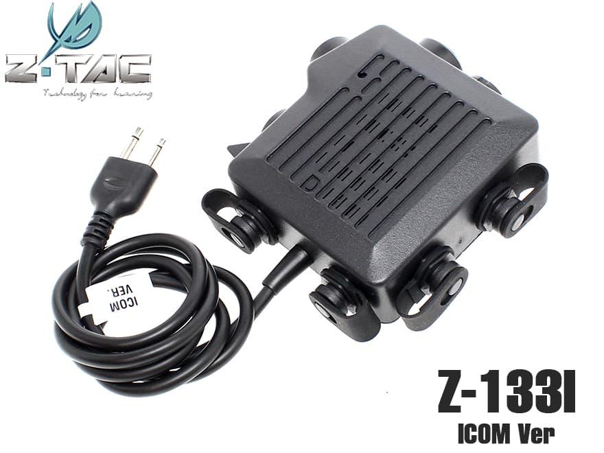 ZTACTICAL SELEX TACMIC CT5タイプ PTTスイッチ ICOMコネクター◆ハンドマイク⇔PTT 2Way仕様!クリップ付き