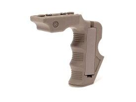 MGRIP Keymod マグウェルグリップ◆ダークアース キーモッド対応 C.A.A. スタイル レシーバーグリップ アングルグリップ AR-15系に HK417 SCAR-L SR-15 ACR PDW