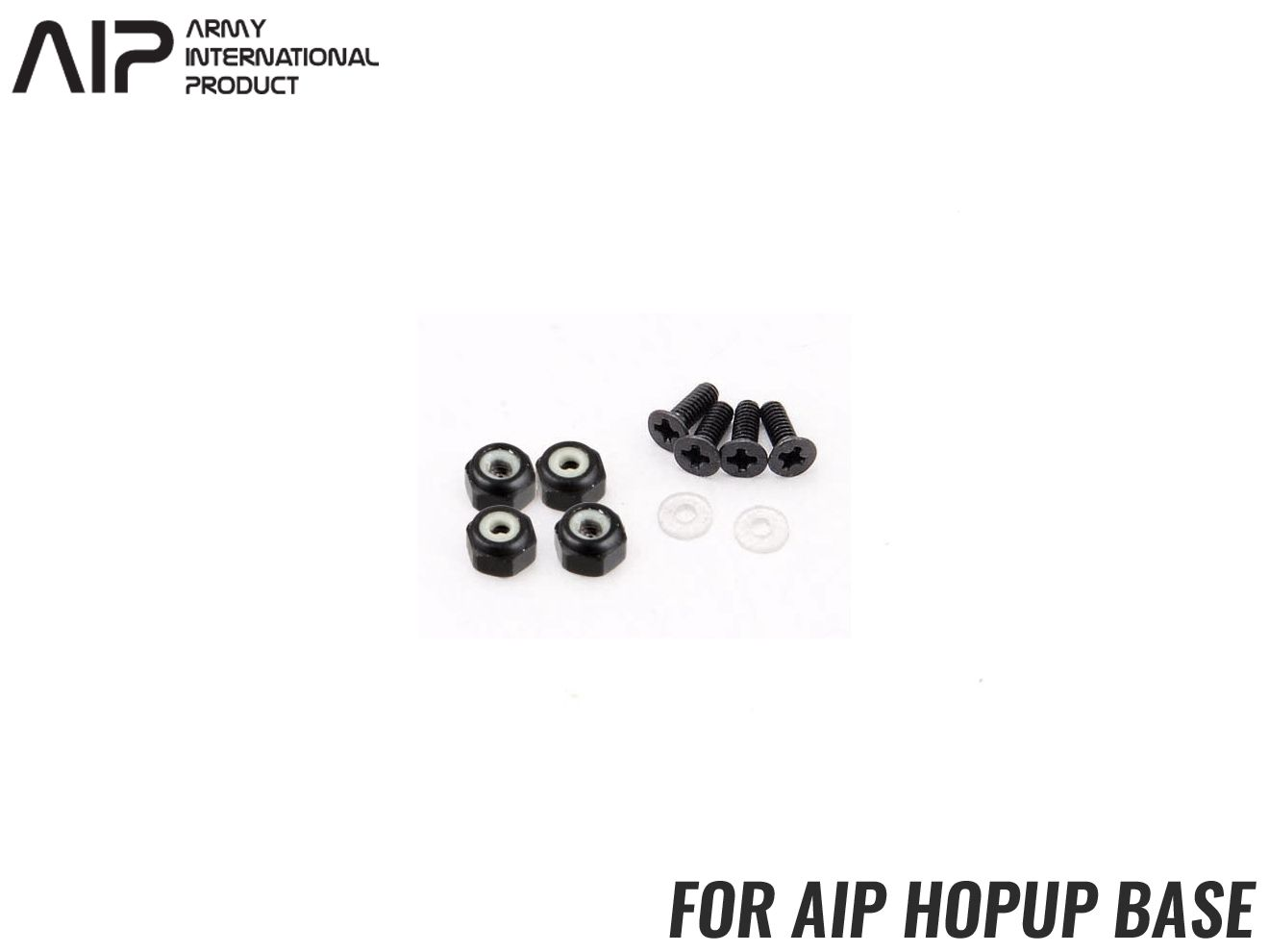 AIP 補修セット for AIP Hi-CAPA ホップアップベース◆AIP製ハイキャパ用 ホップアップベース対応 Oリングはマルイ ハイキャパにも使用可