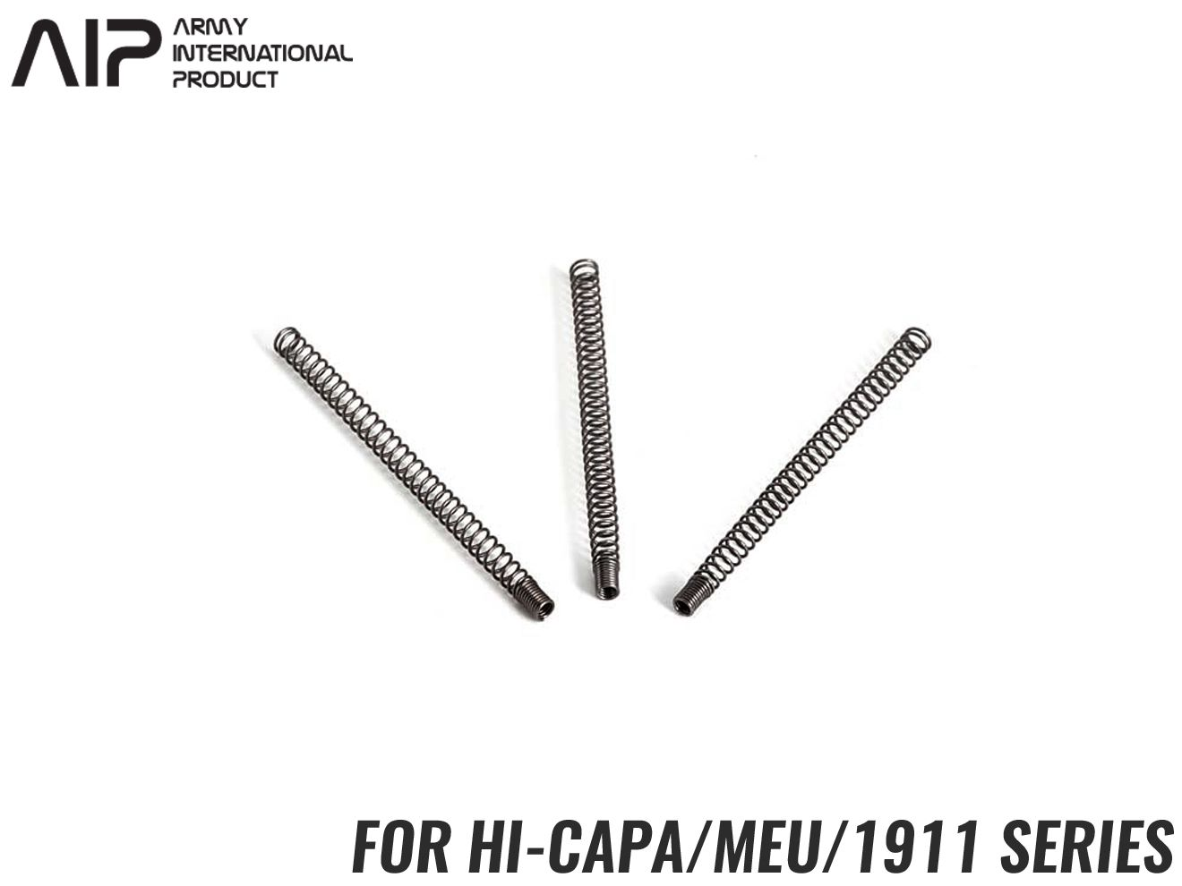 AIP 120% ノズルリターンスプリング Hi-CAPA/MEU/1911◆東京マルイ GBB ハイキャパ/MEU/1911シリーズ対応 ピストンリターンSP リペア予備に