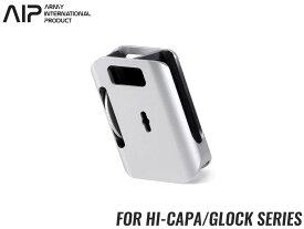 AIP アルミCNC IPSC マガジンポーチ Hi-CAPA/GLOCK◆SV 東京マルイ GBB グロック/ハイキャパ対応 360°回転が可能 ベルトマウント式