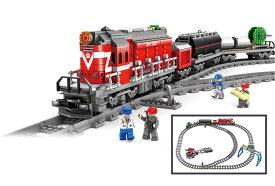 DF5 ディーゼル機関車 1002Blocks◆走る!レール付きで作ったあとも遊べる!