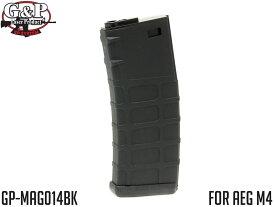 G&P GMAG 130Rds マガジン AEG M4 BK◆MADBULLライセンス スプリング式 ミッドキャパシティ マルイ ICS G&G スタンダードM4系に