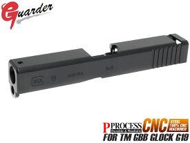 GLK-175(BK)■GUARDER CNC スチールスライドキット for TM G19◆東京マルイ 新型 G19対応 スチール削り出し ヘビースライド リコイルアップ 質感◎
