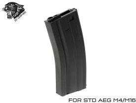 ZC LEOPARD スチール ハイキャパシティマガジン 300Rds AEG M4◆スタンダード電動 M4対応 ゼンマイ式 多弾マガジン ミドルサイズ マルイICS