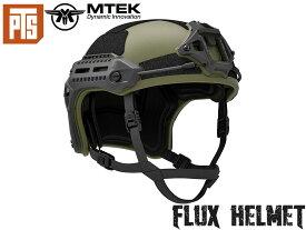 【正規品】PTS MTEK FLUXヘルメット◆USAMTEK社 エアソフト対応高性能 ABS樹脂 強度 負荷のポイント バランス コンフォートパッド ずれ防止 快適性向上 M-LOK OD
