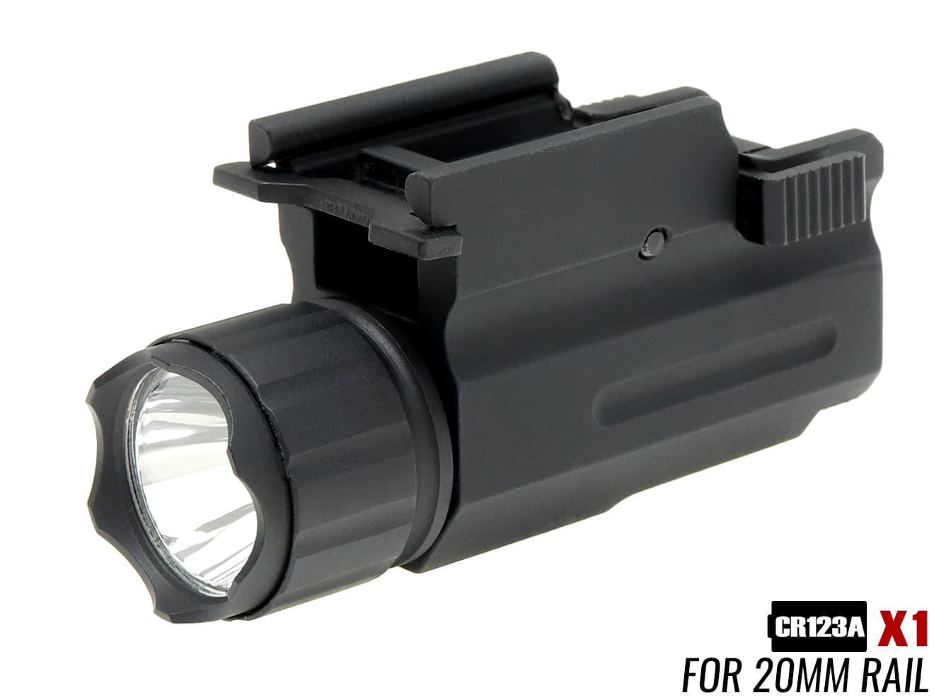 【アルミ頑丈軽量】X3000タイプ QD LED ウェポンライト BK★グロックやHi-CAPAに