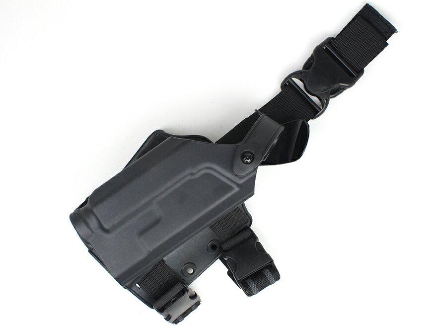 SLタイプ ALS/SLS タクティカルホルスター(右) M1911用 フラッシュライト付にも対応!