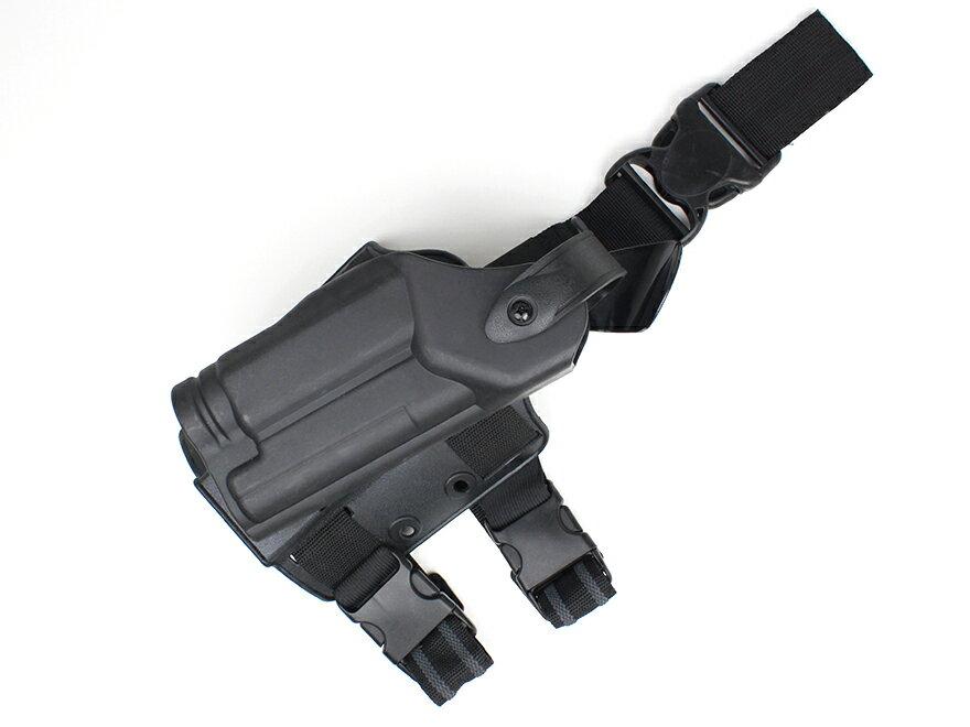 SLタイプ ALS/SLS タクティカルホルスター(右) P226用 フラッシュライト付にも対応!