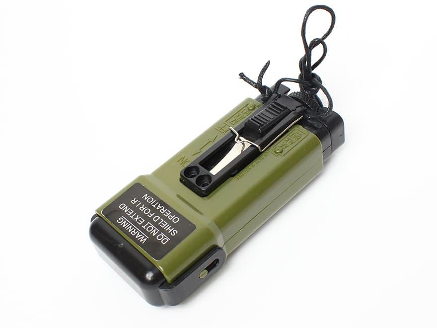 【精巧なダミー】MS2000タイプ ストロボライト(ダミー)OD★サバゲー/米軍装備コスプレに