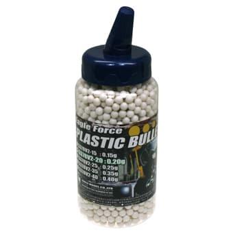 EAGLE FORCE プラスチックBB弾 0.20g 2000発(6mm弾・ホワイト) #5378V2-20 ◆±0.01mmの超高精度!ボトル入りで充填ラクラク!